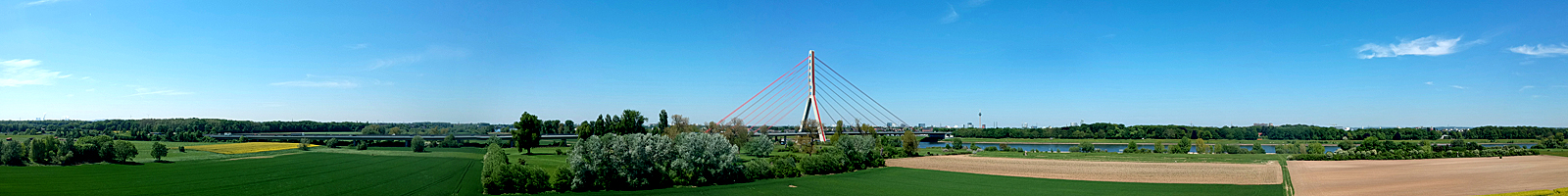 Fleher Brücke Düsseldorf